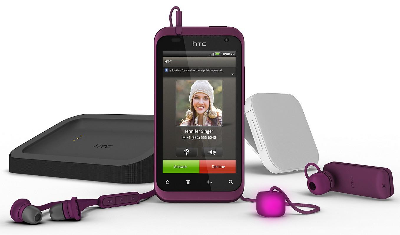 HTC vine cu Rhyme din octombrie