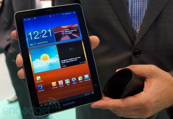 Galaxy TAB 7.7 – hello & goodbye!