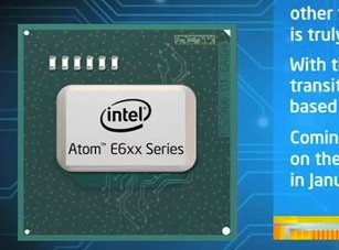 Intel Atom E6XX in ianuarie [+VIDEO]