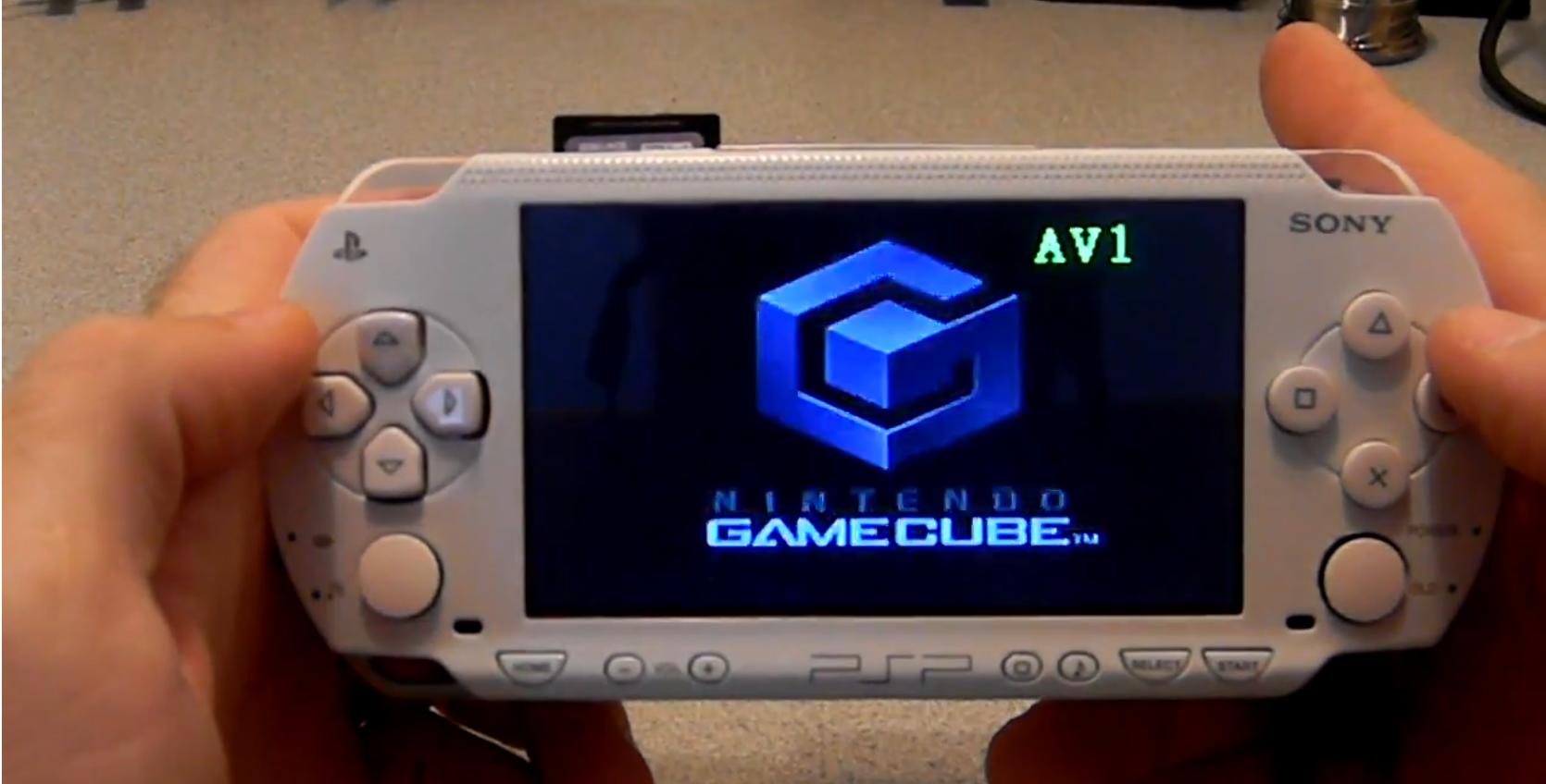 Fusion Micro mod transforma PSP-ul intr-un GameCube functional