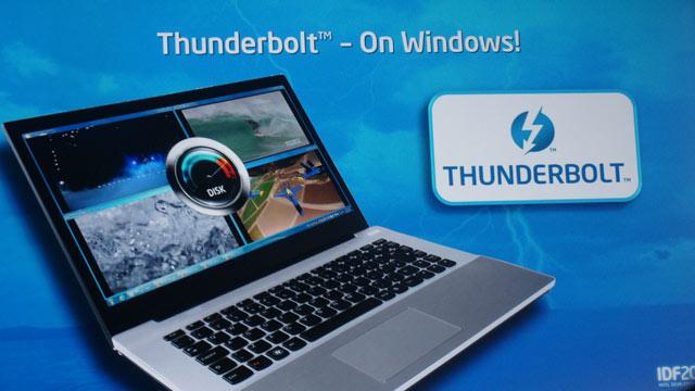 Thunderbolt invadeaza si PC-urile