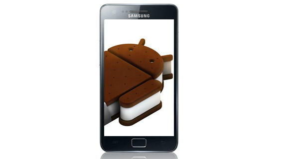 Android Ice Cream Sandwich pe Samsung Galaxy S2, abia din 2012