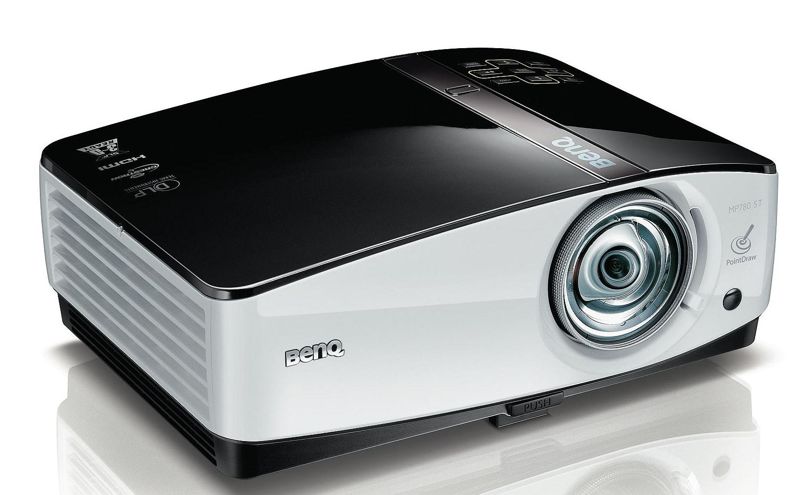 BenQ MP780ST – Proiectorul 3 in 1 [REVIEW]