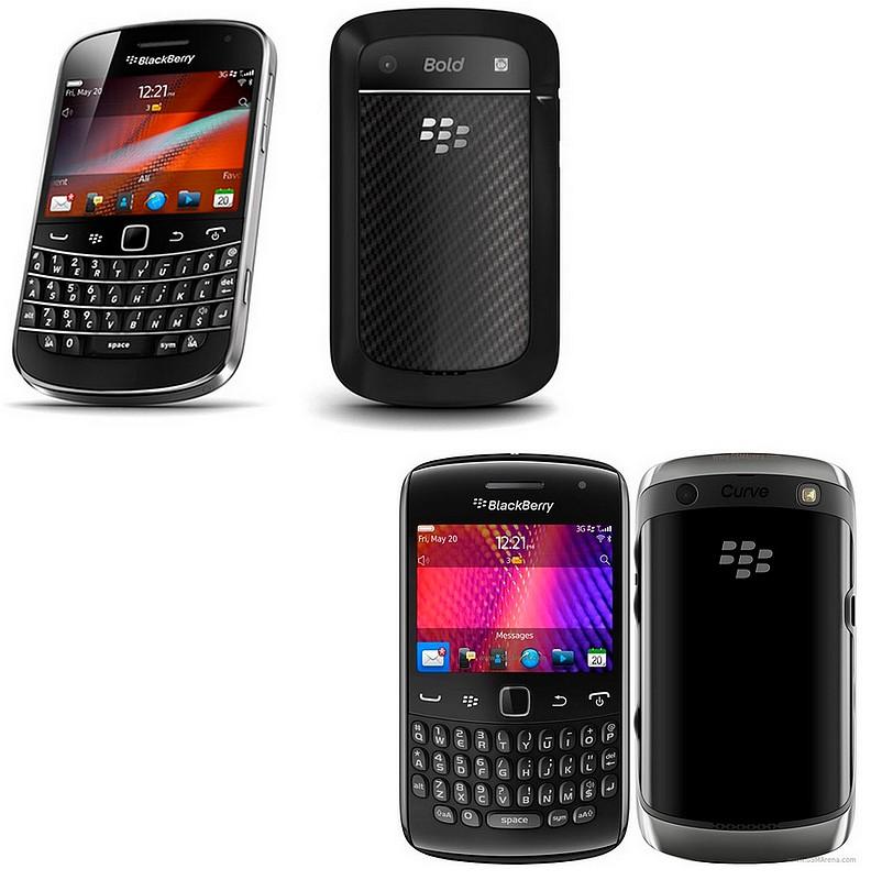 BlackBerry Bold 9900, BlackBerry Curve 9360, Bold 9900, Curve 9360