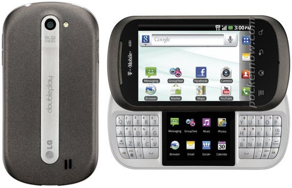 LG Doubleplay – Doua ecrane, tastatura QWERTY si Android