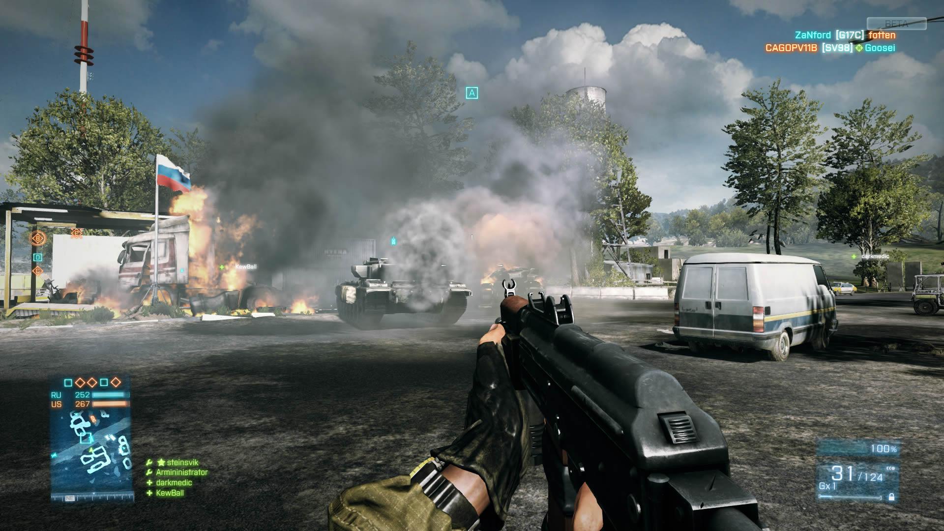 Review Battlefield 3 Beta