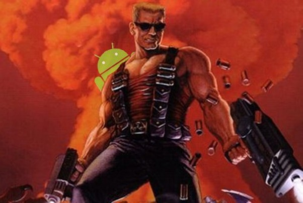 Duke Nukem in curand pe Android