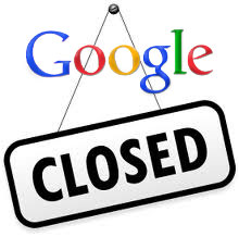 Google inchide mai multe servicii la inceputul lui 2012