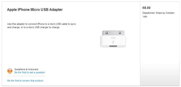 Apple trece pe Micro USB, mai creeaza un adaptor