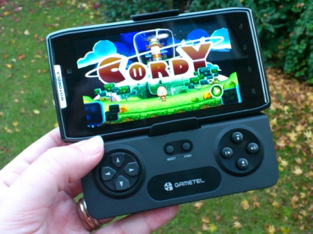 Gametel transforma telefoanele in console
