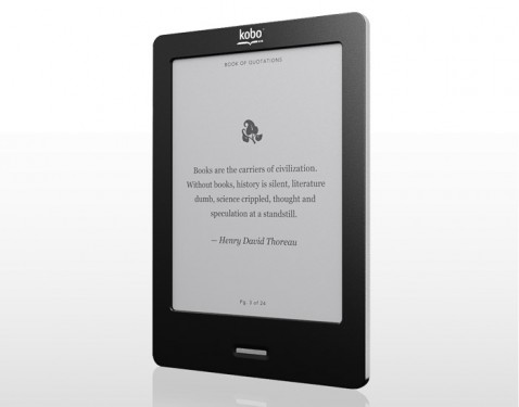 Kobo eReader Touch deschidere