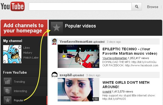 YouTube se pregateste de facelift