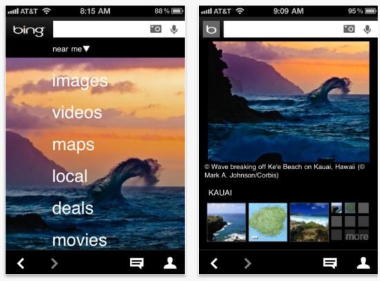 Microsoft lanseaza Bing pentru Android si iOS