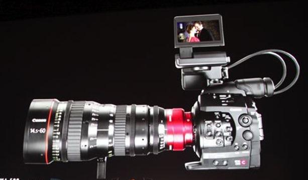 Canon incearca marea cu degetul: creeaza o camera video din gama PRO
