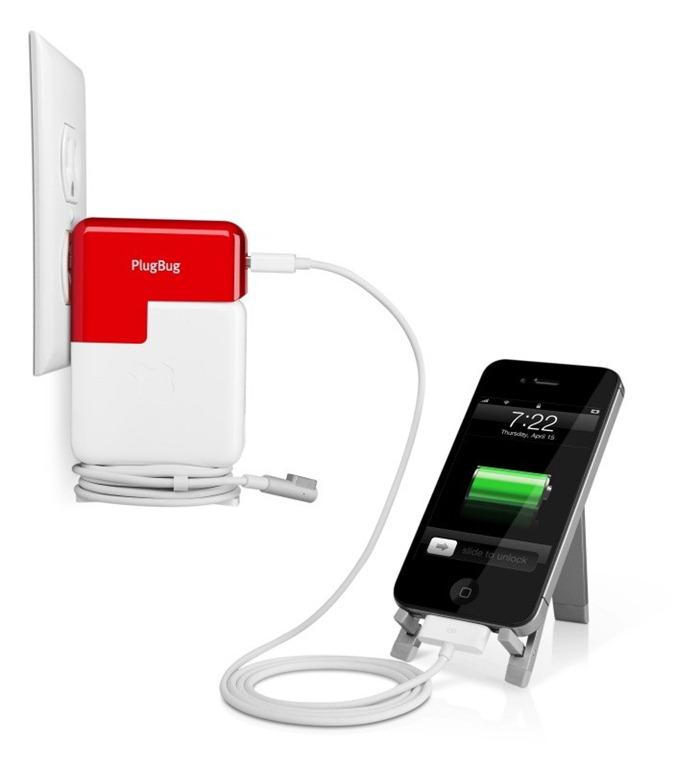 PlugBug fura curent de la Mac si il da la iPad/iPhone/iPod