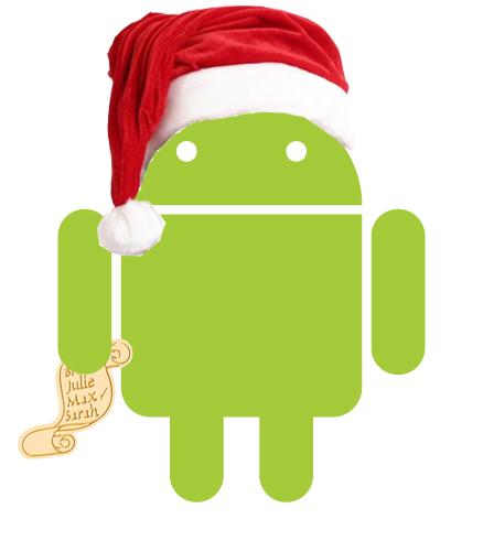 Android il aduce pe Mos Craciun