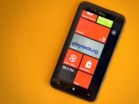 HTC Titan Windows Phone 7,5 Mango