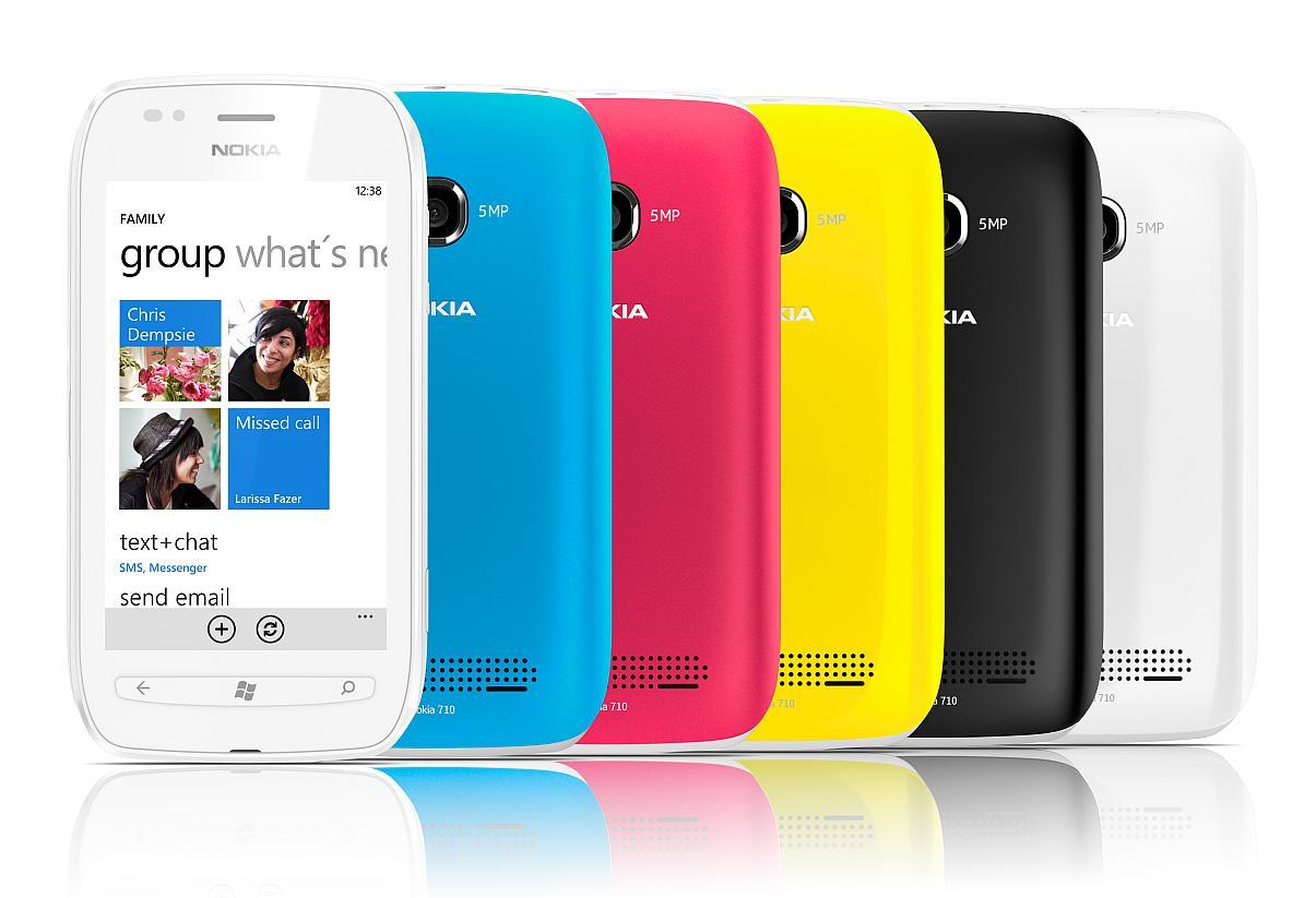 Nokia Lumia 710 livrat si gata de vanzare