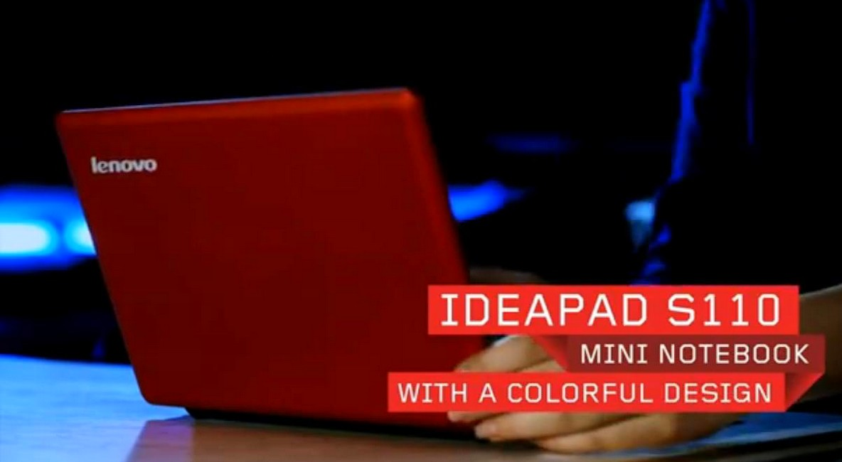 Lenovo IdeaPad S110 cu Cedar Trail a aparut in video teasing
