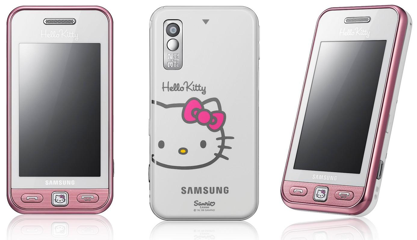 Star Hello Kitty este noul telefon roz de la Samsung