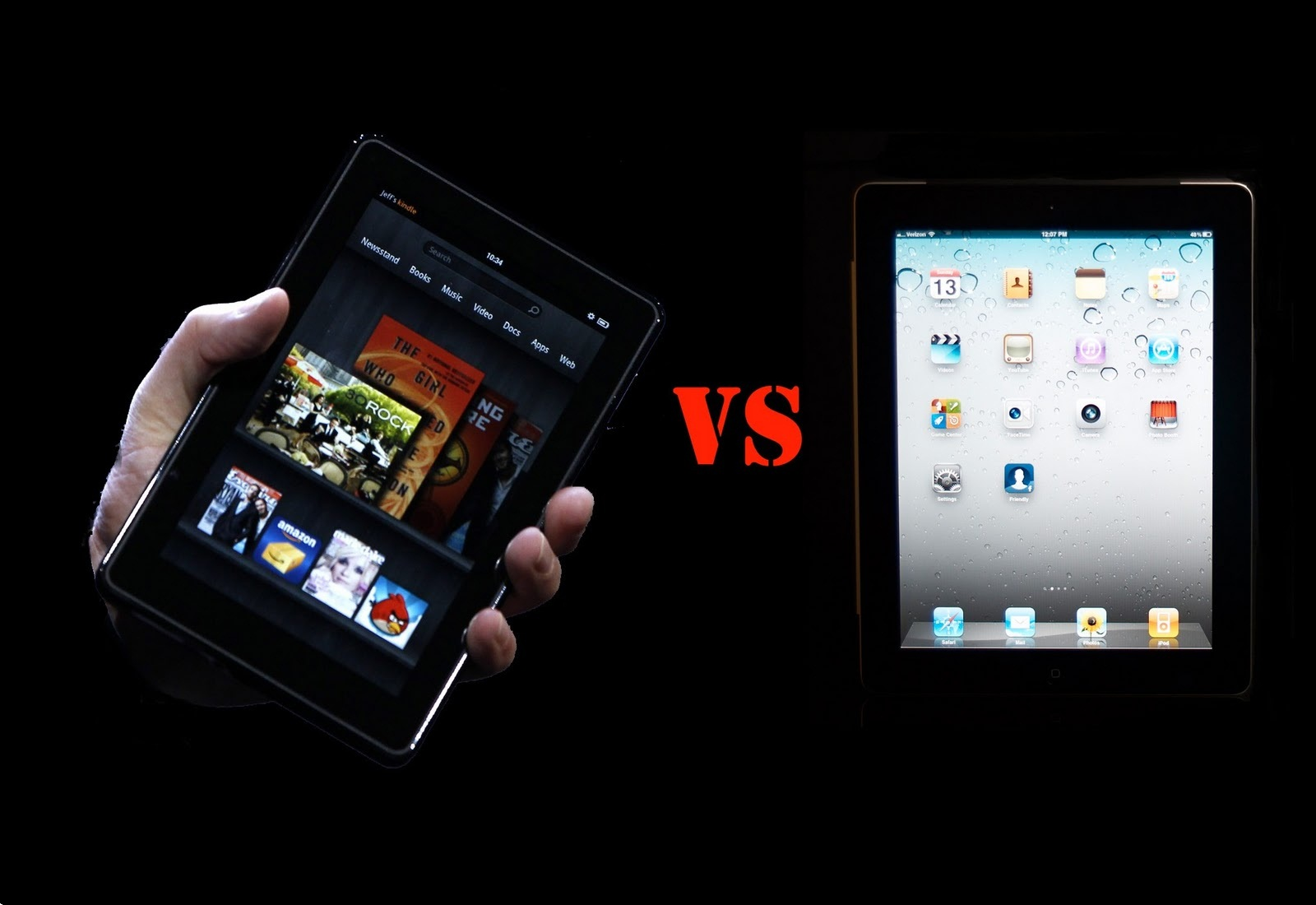 Kindle Fire, o gluma pe langa iPad2?