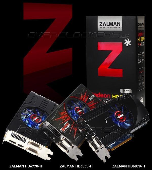 Zalman se apuca de placi video cu solutii de racire speciale