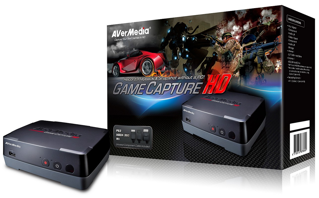 AVerMedia Game Capture HD, in Romania – Daca esti gamer de console, te intereseaza