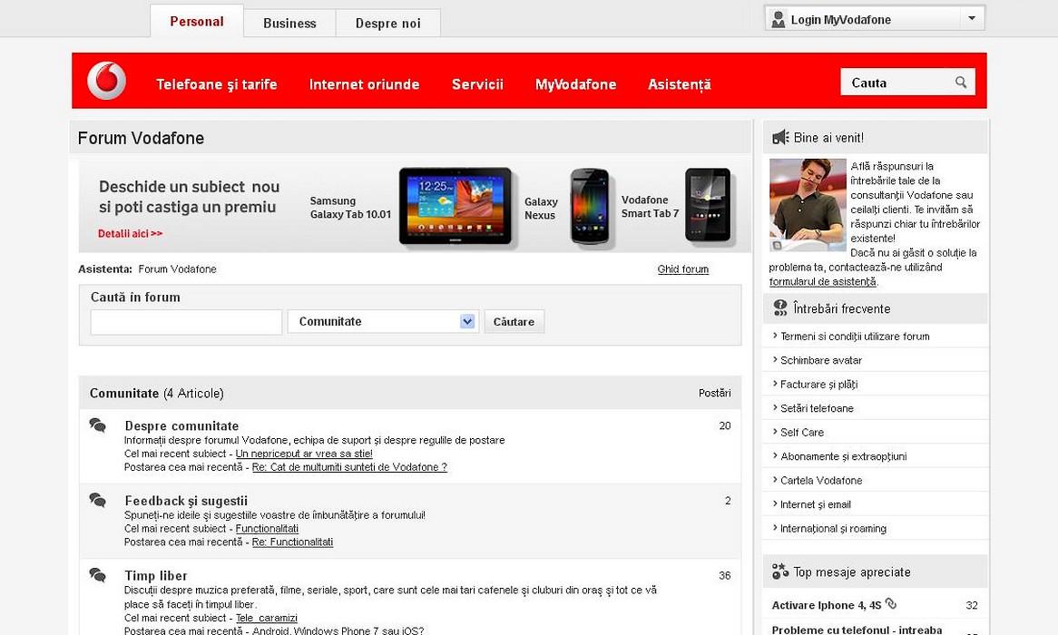 Forum Vodafone