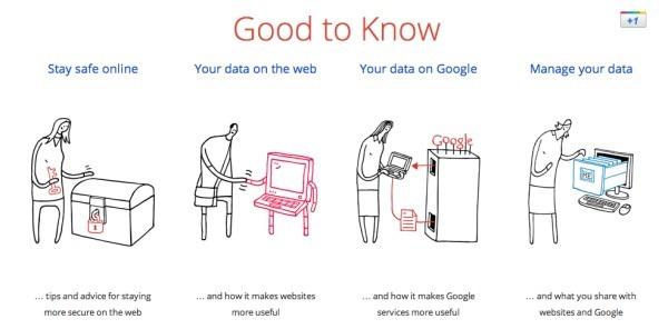 """Google, intr-o campanie buna de retinut: """"Good to Know"""""""