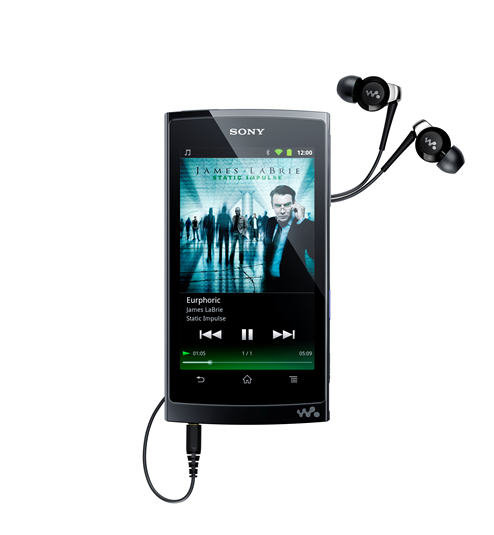 Walkman Z – Media Player cu Android de la Sony