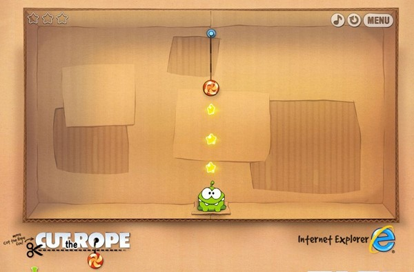 Cut the Rope trece in browser – demonstreaza de ce este bun HTML 5