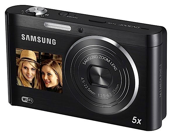 Samsung DV300F: noile camere point-and-shoot cu 2 ecrane