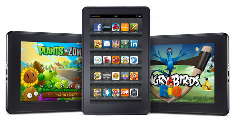 Kindle Fire primeste un nou update