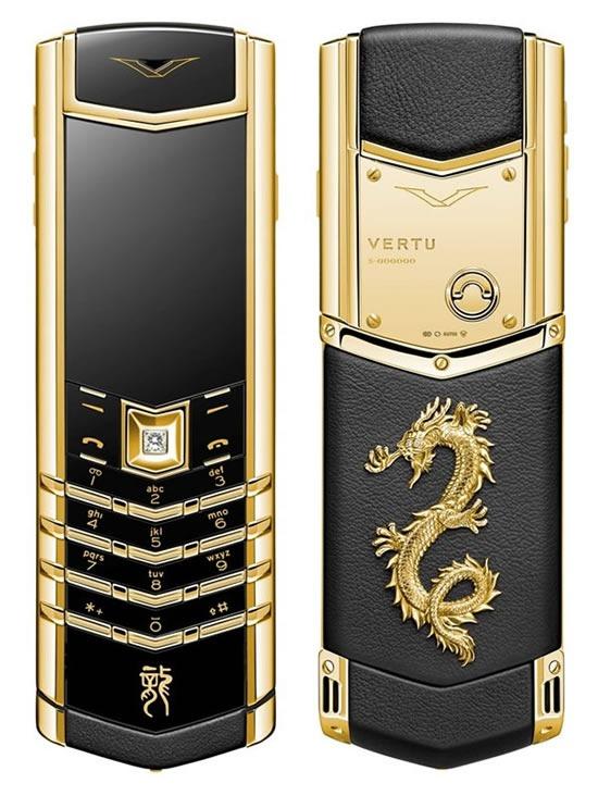 Vertu lanseaza noi telefoane de lux in Anul dragonului