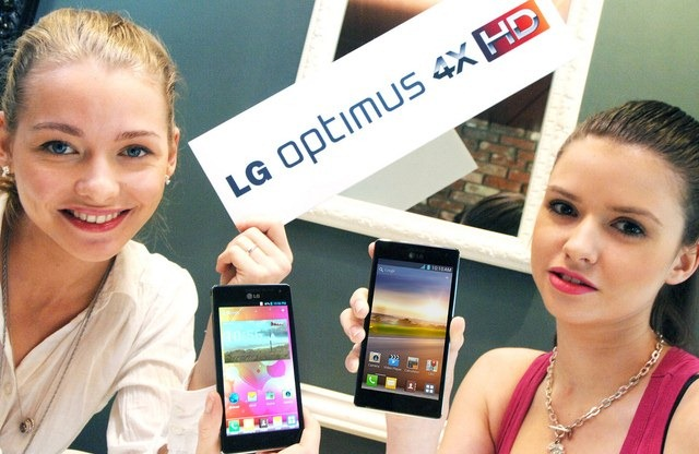 LG anunta Optimus 4X HD, cu Nvidia Tegra 3 si Ice Cream Sandwich