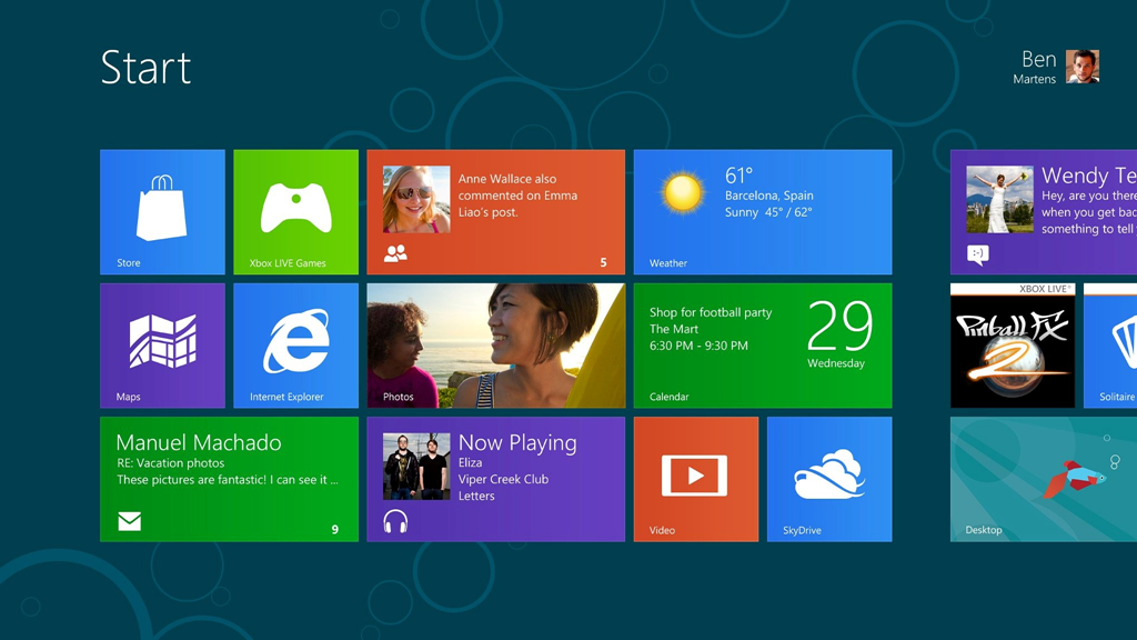 Windows 8 Consumer Preview, disponibil pentru download