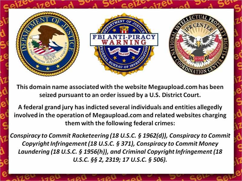 Proprietatile fondatorului MegaUpload au fost confiscate