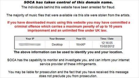 Website-ul RnBXclusive.com a fost dat jos in aceste zile de catre SOCA