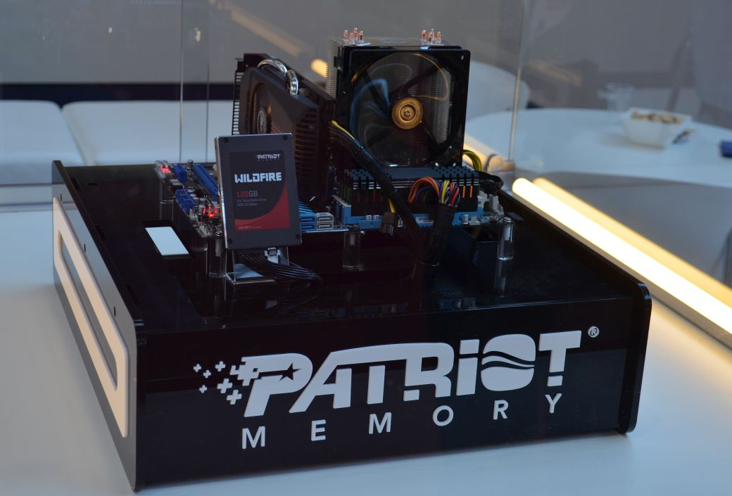 Noutati Patriot la CeBIT 2012