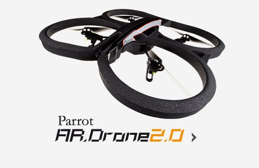 Parrot AR.Drone 2.0 zboara catre utilizatori [VIDEO]