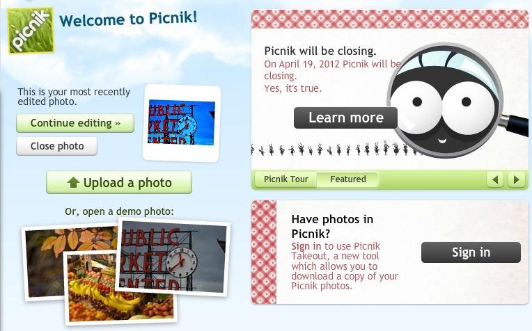 Gata cu Picnik-ul! Il inghite Google+…