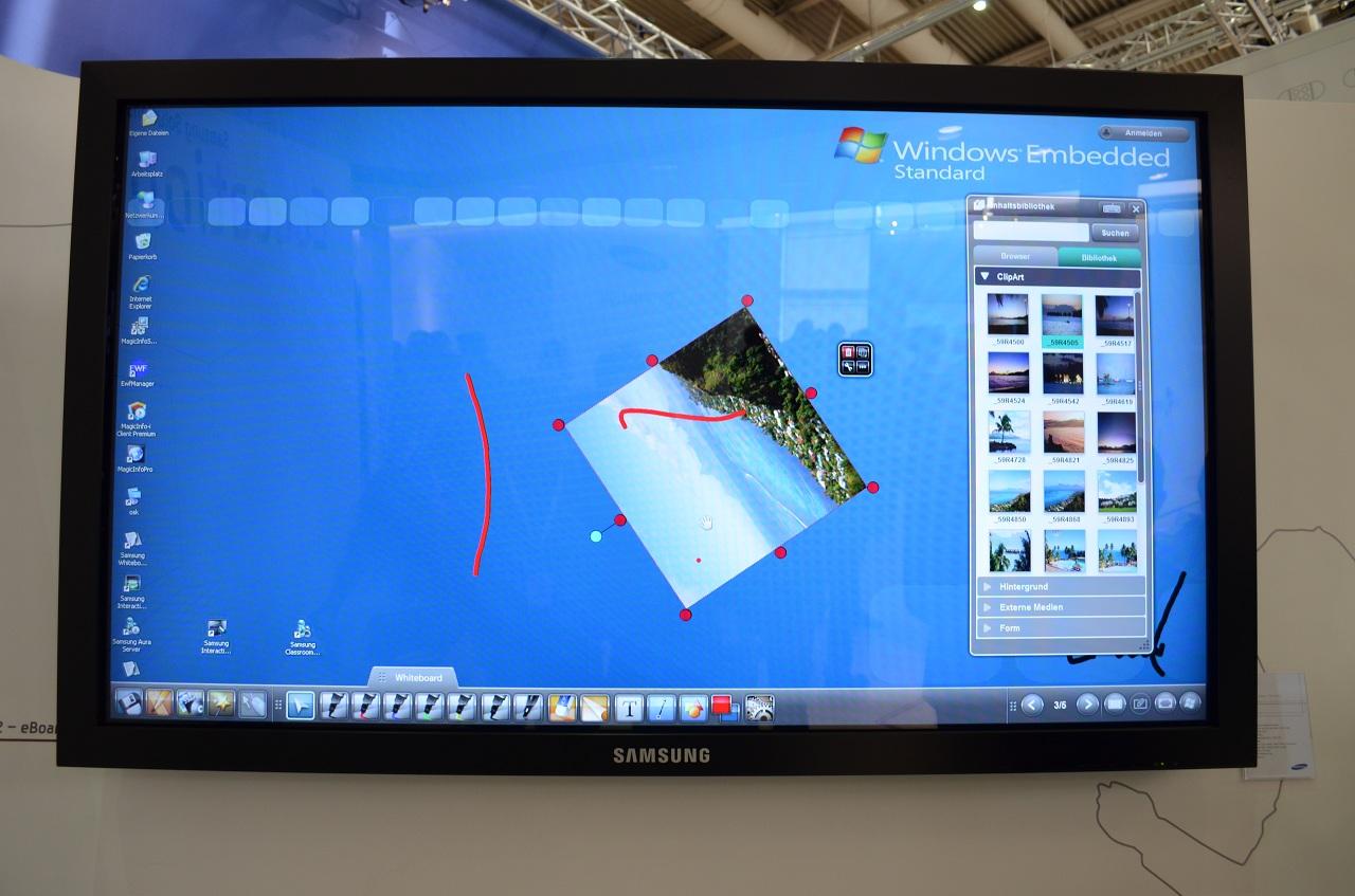 Hands-On Samsung eBoard 650TS-2