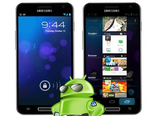 Samsung Galaxy S II: ICS ajunge la norocosi