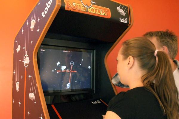 Tobii EyeAsteroids Eye Control Arcade Game