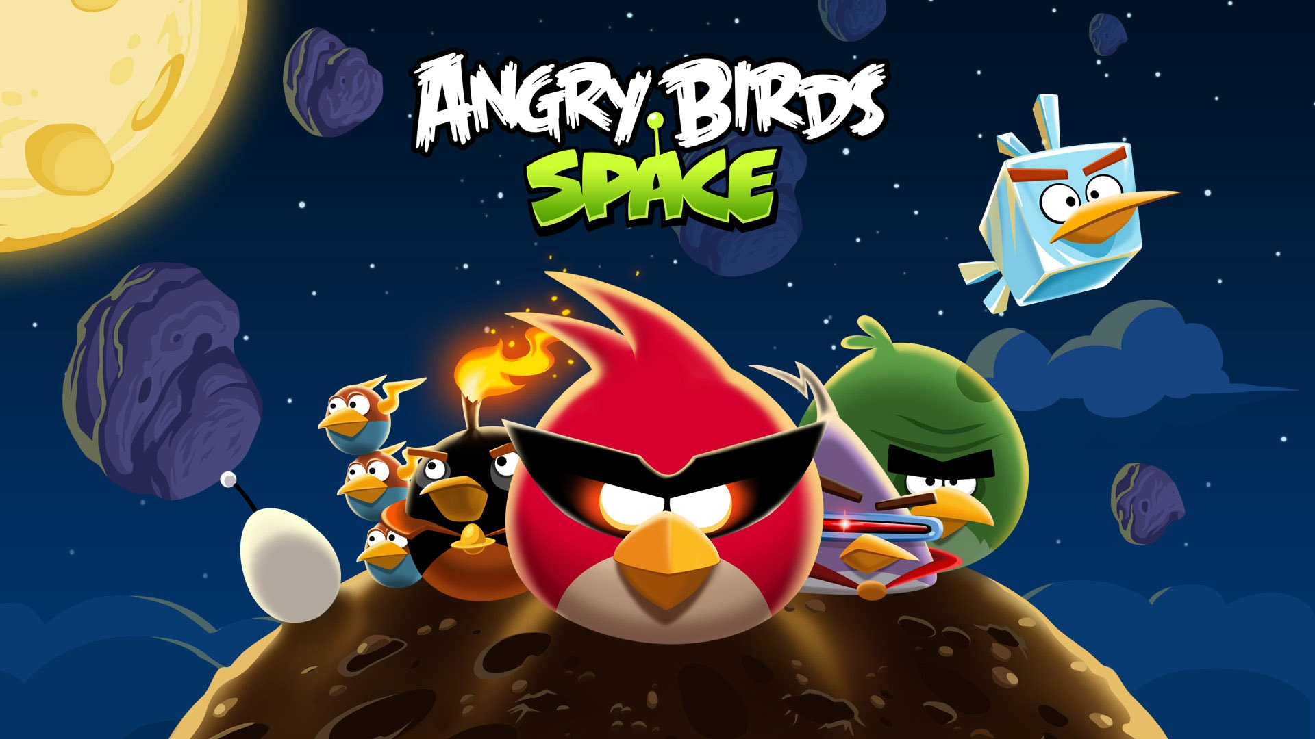 Angry Birds Space anuntat de NASA