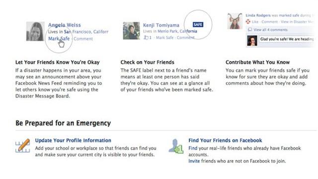 Facebook Disaster: Cum va afla familia ca esti in regula dupa o calamitate