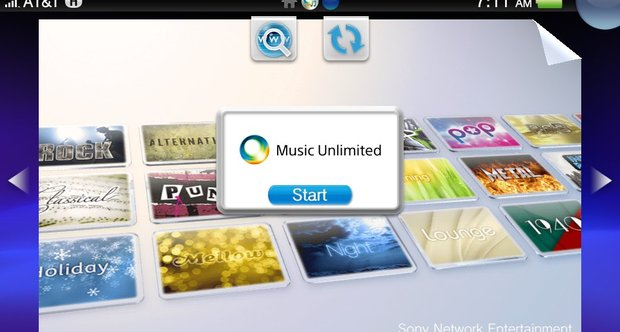 Music si Video Unlimited, acum si pe Vita