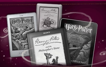 Cartile Harry Potter sunt disponibile in format digital