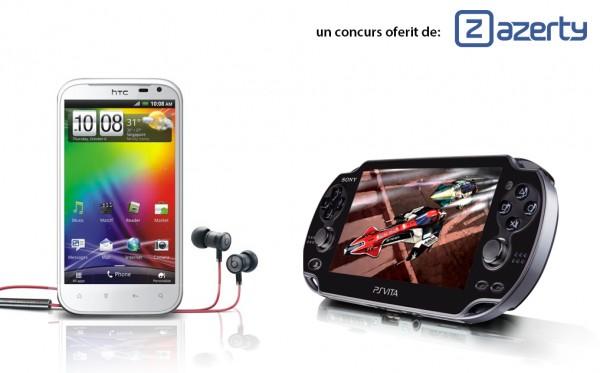 Castiga un Smartphone HTC si un PS VITA