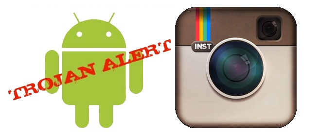 instagram virus android trojan